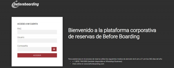 Before Boarding announces the launch of its corporate booking platform
